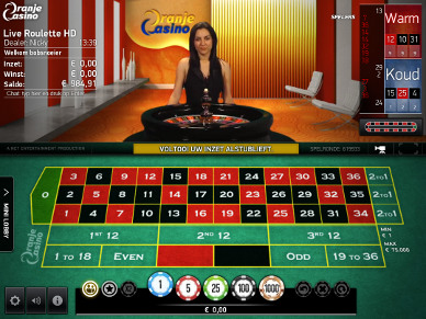 oranje live casino review